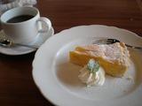 ラバーマ マンゴータルトとコーヒー