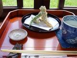 蕎麦 恵土 天ぷら
