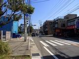 鎌倉エビス 前の道