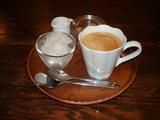 KITCHEN ORANGE コーヒーとシャーベット