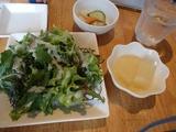 太陽  サラダと小鉢