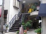 デサンジュ 入口の階段