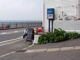 稲村ガ崎食堂 店横