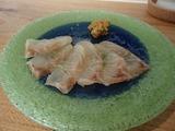 燻太 白身魚の燻製 刺身