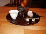 蕉雨庵 煎茶とお菓子
