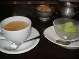 モンクス 抹茶アイスとコーヒー
