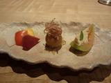 楠の木  前菜