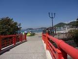 森戸茶房 赤い橋