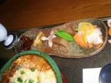 マニベ 惣菜の皿