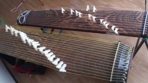 十七弦と箏