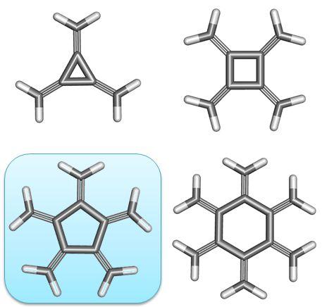 radialenes