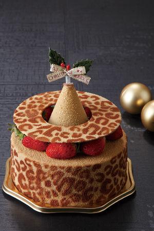 レオパード柄ケーキ