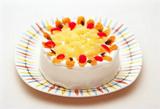 季節のデコレーションケーキ