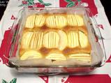 焼き上がりのアップルケーキ