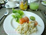 クラブラウンジの朝食@インターコンチネンタル・バンコク