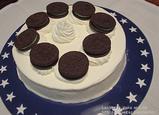 オレオクッキーチーズケーキ