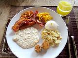 ヴィラゾリテュードの朝食