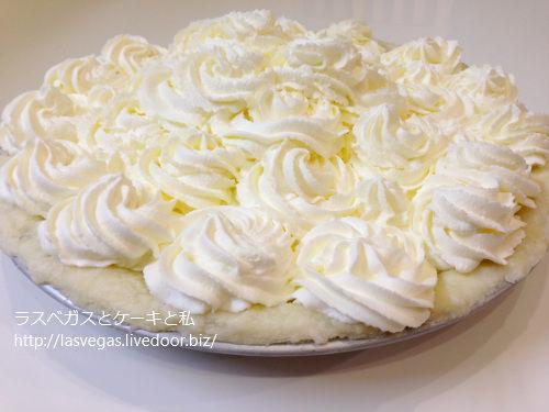 ウネウネココナッツクリームパイ