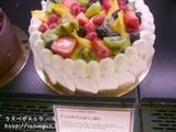 フレッシュフルーツケーキ!