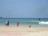ーケットのパトンでビーチタイム&マクドナルド