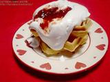 ワッフルパンケーキ