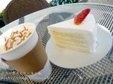 新羅免税店の屋上カフェ