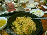 景福宮で焼肉ディナー
