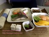 デルタ航空 羽田-シアトル ビジネスクラス機内食