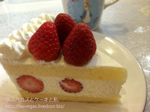 贅沢紅ほっぺ苺のショートケーキ