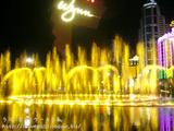 ウィンマカオの噴水ショー