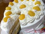 和久井商店の栗のデコレーションケーキ