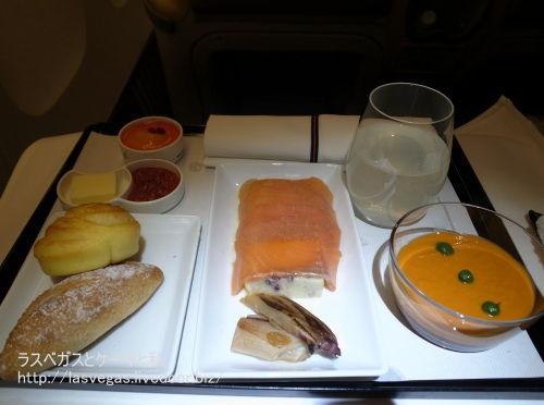 ANA機内食マンダリンコラボ