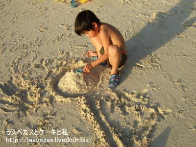 砂遊びタイム