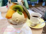 東京ドームホテル ロビーラウンジでパフェ&ゴーゴーカレー