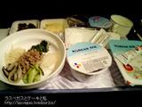 コリアンエアーの機内食