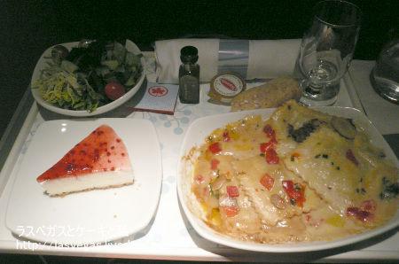 エアカナダ機内食