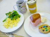 いろとりどりの朝食♪