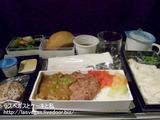 成田の不二家&シンガポール航空の機内食