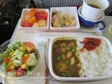 サクララウンジ@スワンナプーム国際空港&JAL機内食