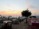 オンザビーチのレストランで夕食@ナイヤンビーチ
