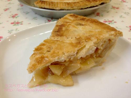 柔らかフィリングのアップルパイ