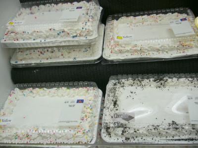 シートケーキ群