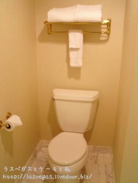 奥まったトイレ