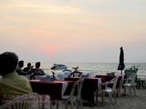 ナイヤンビーチでディナー@マンマミーア