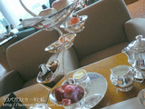 ティフィンでアフタヌーンティー&グランドカフェでディナー