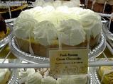 フレッシュバナナクリームチーズケーキ
