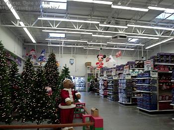 クリスマス売り場