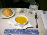 UAファーストクラス機内食