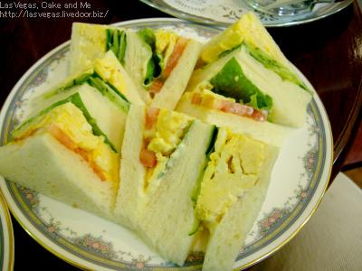 たまご野菜サンド