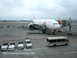 夏休みのタイ旅行・JL717便でバンコクへ